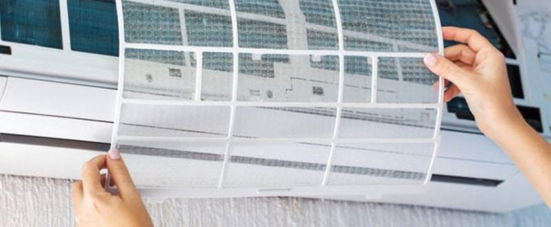 تعویض یا تمیز کردن دوره ای فیلتر های کولر گازی